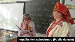 Урок эрзянского языка