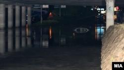 Поплави во Скопје