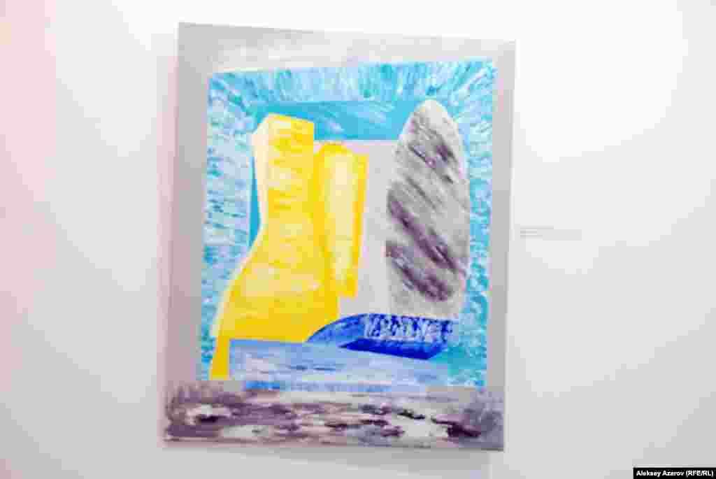 Чех суретшісі Вероника Кубикованың бұл картинасы әлем елдеріндегі төрт астана – Прага, Париж, Лондон және Рим қалаларынан алған әсерін көрсетеді.