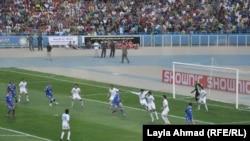 مباراة الجوية والزوراء في ملعب الشعب الدولي