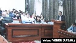 Экс-премьер Серік Ахметовтің соты. Қарағанда, 25 қараша 2015 жыл.