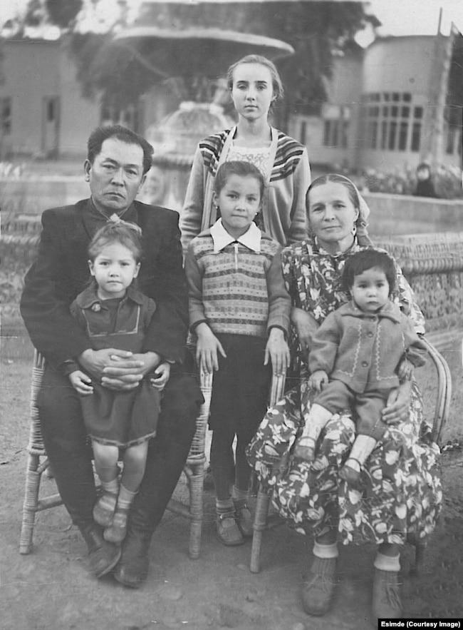 Семья. 1961 год.
