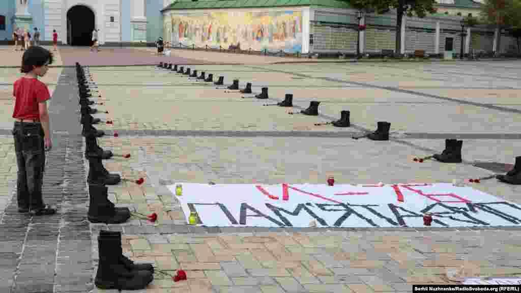 14 червня 2014 року близько першої години ночі російські гібридні сили підбили військово-транспортний літак повітряних сил ЗСУ Іл-76 під час заходу на посадку в оточеному аеропорту Луганська