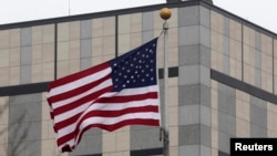 The U.S. embassy in Kyiv has not yet commented on the incident. (file photo)