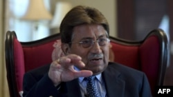 A Pakistani court ordered a freeze on the assets of former military ruler Pervez Musharraf in a treason case against him.