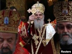 Patrijarh Irinej tokom liturgije u Banjoj Luci, 9. januar 2012.