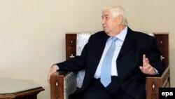 ولید المعلم، وزیر خارجه سوریه