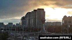 Ночной Ашхабад, архив