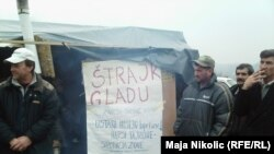 Protest radnika Vegafruita