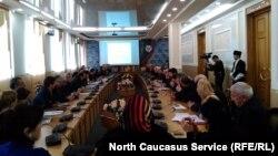 Научно-практическая конференция в Дагестанском государственном педагогическом университета (архивное фото)