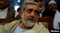 Кандидат в президенты Афганистана Абдулла Абдулла.