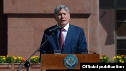 Алмазбек Атамбаев, Бишкек 31-август, 2014