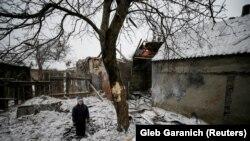 После обстрела в Авдеевке (2 февраля 2017 г.)