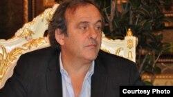 Президент Союзу європейських футбольних асоціацій (УЄФА) Мішель Платіні