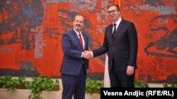 Aleksandar Vučić i Entoni Godfri (arhivska fotografija)