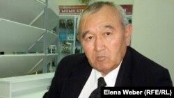 Даурбек Кетебаев, научный сотрудник историко-культурного центра первого президента. Темиртау, 17 октября 2012 года.