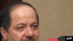 Mas'ud Barzani, the president of Iraq's Kurdistan region