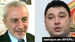 Արամ Մանուկյան եւ Էդուարդ Շարմազանով