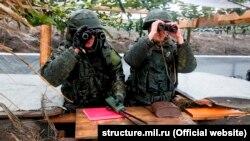 Учения российских ракетных войск в Крыму, 19 марта 2018 года