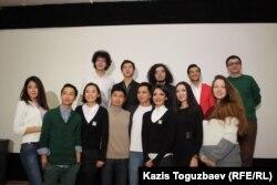 """Участники проекта """"Abai45"""". Алматы, 11 января 2013 года."""