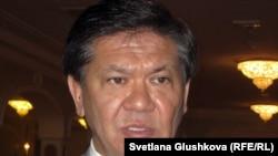 Ермухамет Ертысбаев в бытность советником президента Казахстана по политическим вопросам.