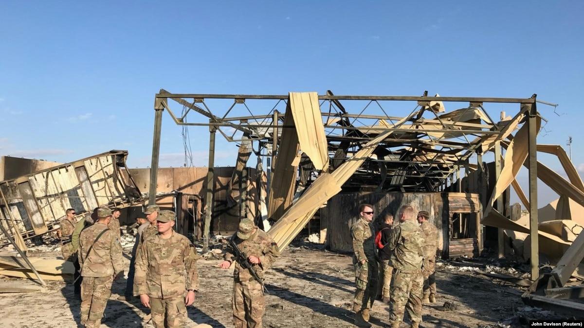 Пентагон: 109 военных США получили черепно-мозговые травмы после атаки Ирана на авиабазу в январе