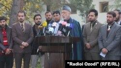 حامد کرزی رئیس جمهوری پیشین افغانستان