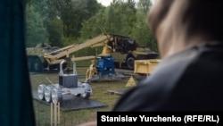 Музей чорнобильської техніки, яка ліквідовувала аварію
