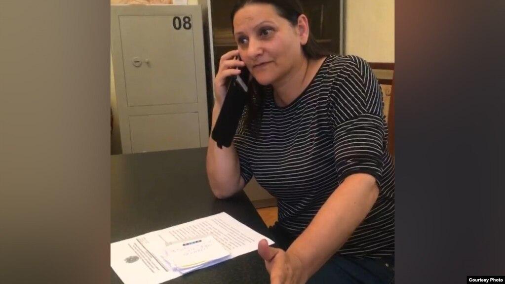 Задержана жена Манвела Григоряна