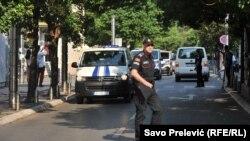 Policija na ulicama Podgorice