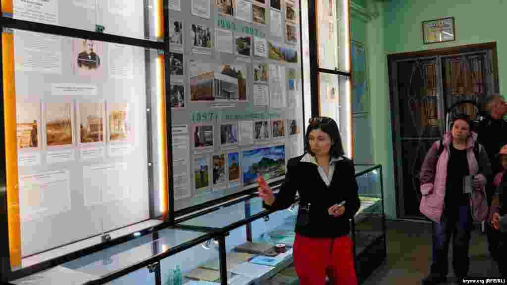 Ескурсовод музею Марина Федоренко