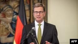 Shefi i diplomacisë gjermane, Guido Westerwelle.