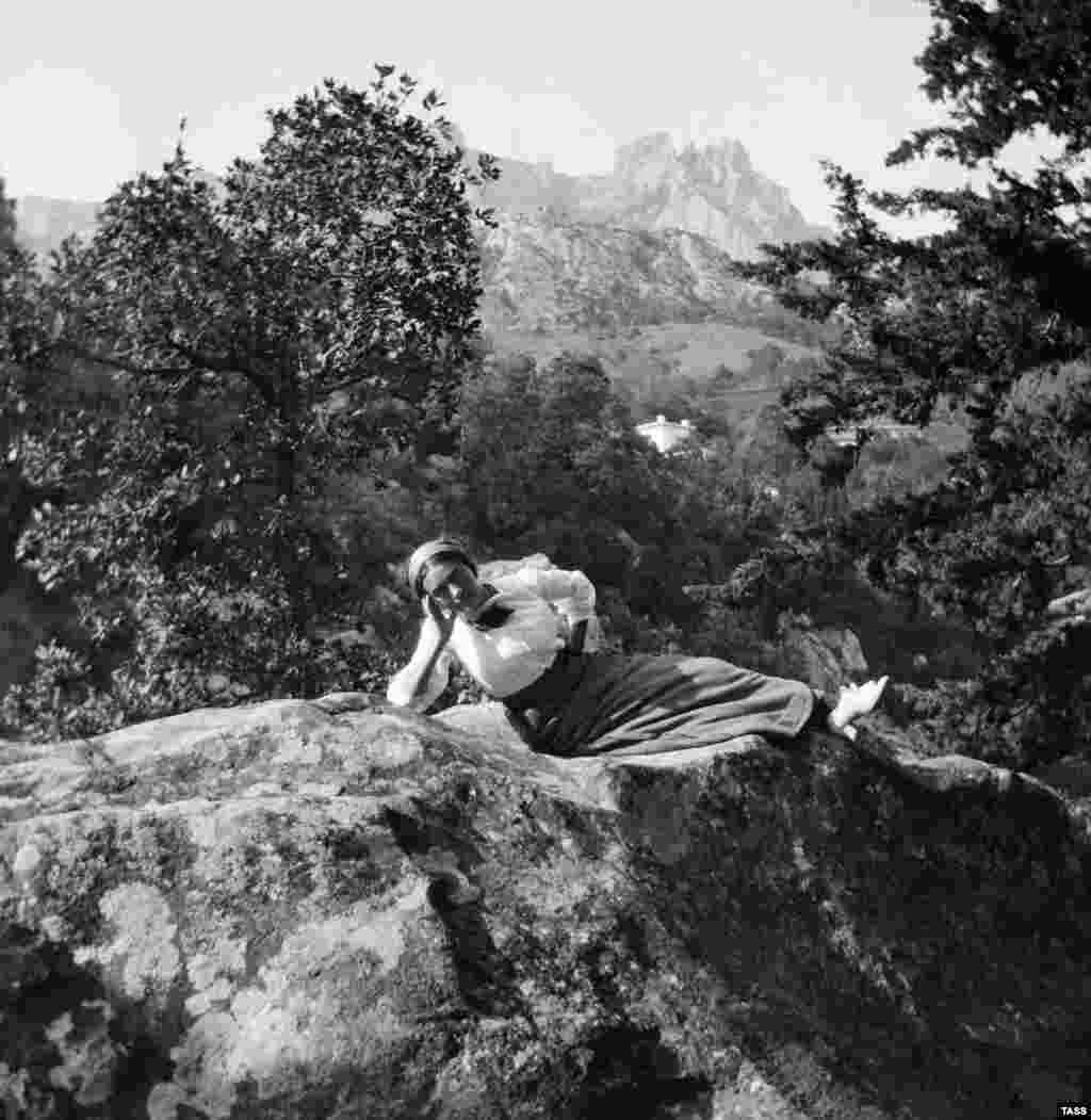 Отдых в Крыму. Начало 20-го века (1913 год)