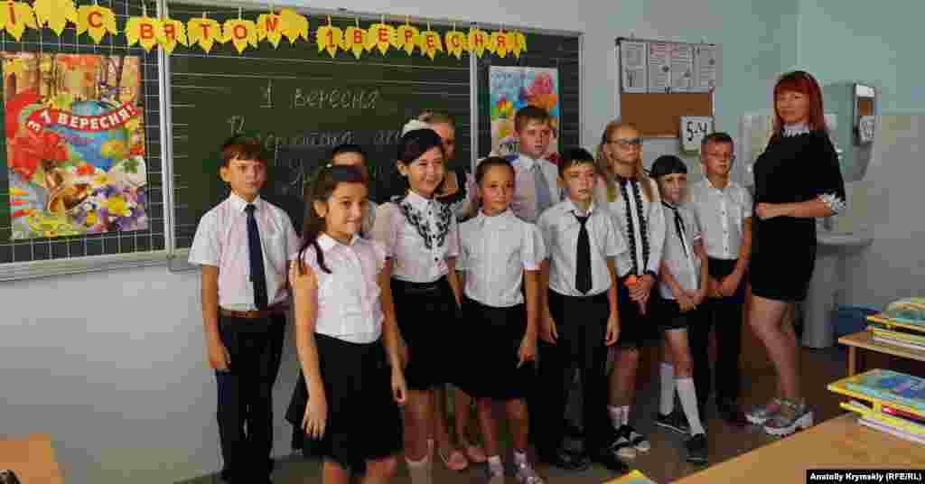 На «урок России» в 5«у» прийшли не всі