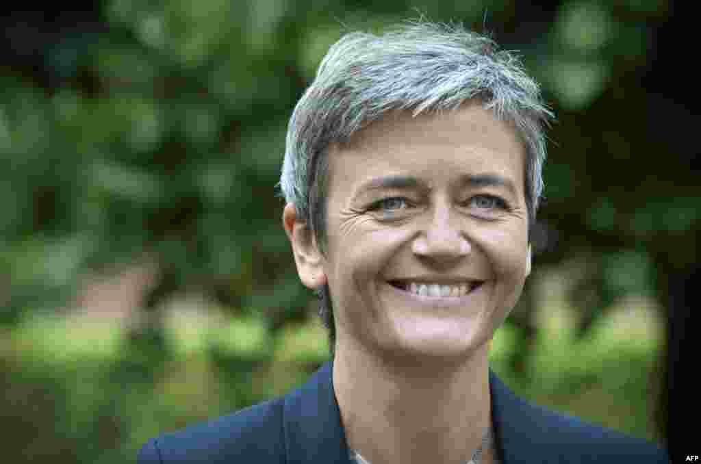 Margrethe Vestager, Denmark, EU competition: Potentially one of Brussels' strongest cards to play against Moscow, the former Danish economy minister will face a tough decision regarding the European Commission's investigation into suspected market abuses by Gazprom on the EU internal market.