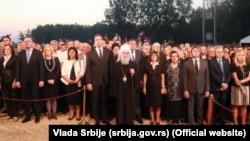 Zvaničnici Srbije na obeležavanju godišnjice Oluje