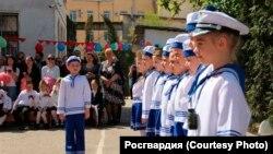 «Військовий парад» дошкільнят у Севастополі