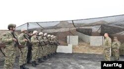 İlham Əliyev cəbhə bölgəsində, 12 noyabr 2016