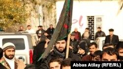 Протест в поселке Нардаран близ Баку, 18 декабря 2010