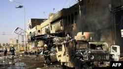 تعداد سربازان آمريکايی که از سال ۲۰۰۳ در عراق کشته شده اند به حدود ۴۰۰۰ نفر رسيده است. (عکس از AFP)