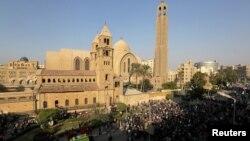 Коптский православный собор Святого Марка в Каире. Иллюстративное фото.