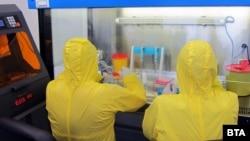 Новата вирусологична лаборатория за изследване за коронавирус към Медицинския университет в Плевен започна работа тази седмица