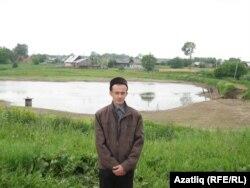 Илмир Касимов тегермән буасы янында