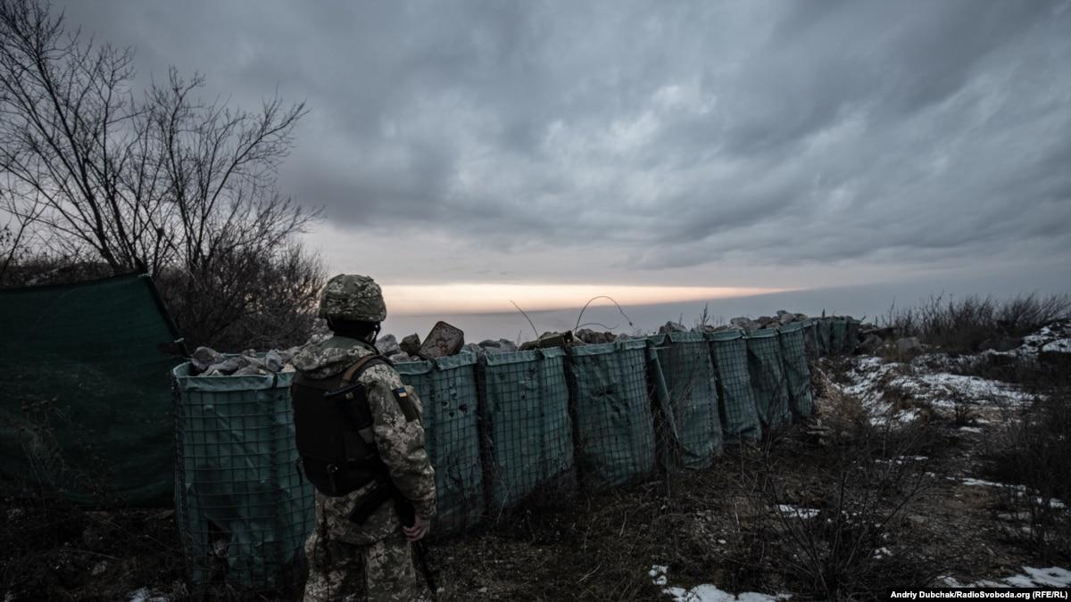 На Донбассе 26 декабря получил ранения один украинский военный – штаб