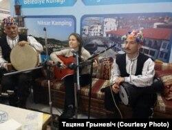 Беларуска-турэцкі музычны выступ. Стамбул, 2020