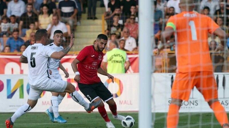 Футбол: Армянский клуб одержал победу в первом матче стадии плей-офф Лиги Европы
