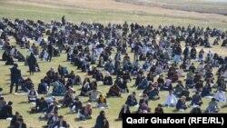 یک امتحان کانکور در افغانستان
