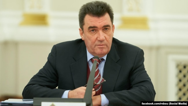 Олексій Данилов, секретар Ради національної безпеки і оборони України