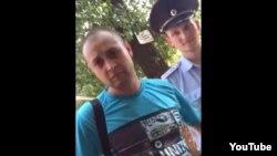 Сотрудники полиции, задержавшие уроженцев Чечни