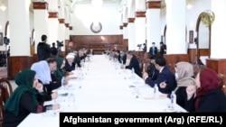 نشست افتتاحیه کمیته رهبری شورای عالی مصالحه ملی در کابل